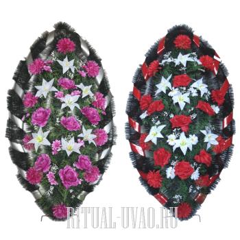 Похоронные венки со скидкой два венка