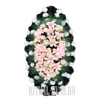 Похоронный венок типовой В01-40