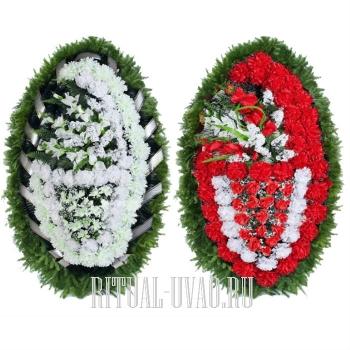 Акция при покупке двух классических венков на похороны