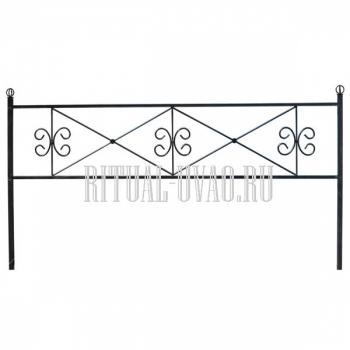 Ограда металлическая - цена и качество