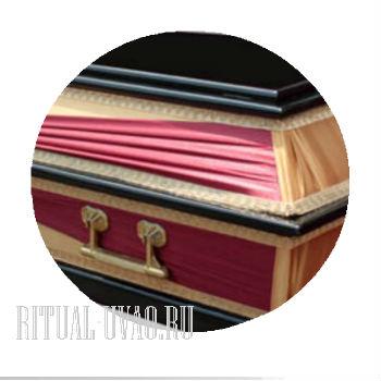 Оформление кремации. Гроб 56-62 Транспорт включен