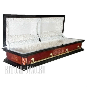 "Гроб саркофаг двухкрышечный ""Агнец"""
