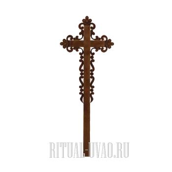"""Крест """"Ажурный Католический"""""""