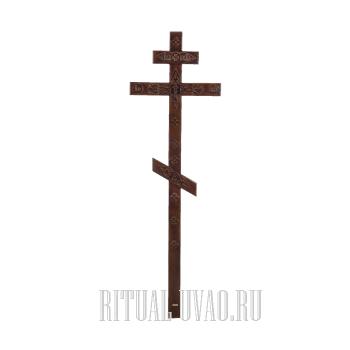 """Крест """"Декорированный темный"""""""
