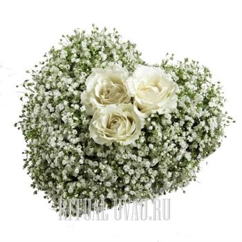 Сердечко на похороны девушки