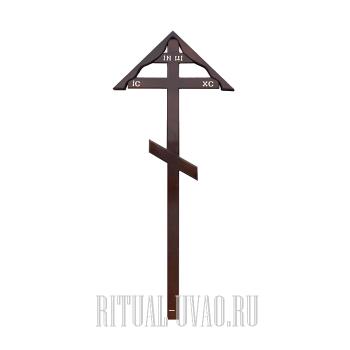 """Крест """"Сосна-Фигурный Домик-220"""""""