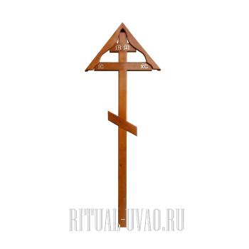 """Крест """"Светлый Фигурный-Домик-220"""""""