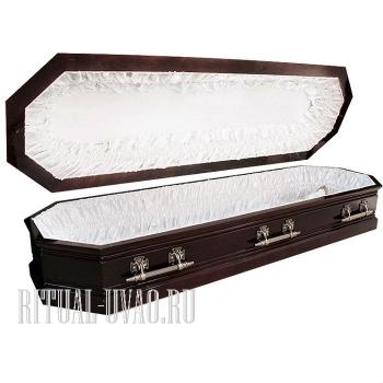 """Гроб """"Покой"""" глянцевый восьмигранный"""