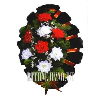 Похоронный венок символический