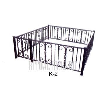 Ограда - недорогое кованное изделие