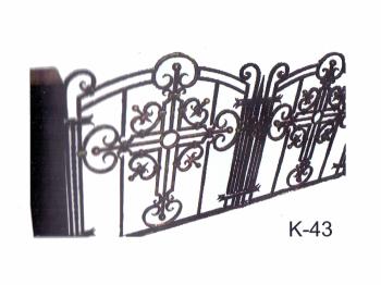 Ограда ручной работы долговечная
