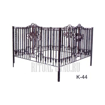 Ограды кованные, метровая ковка