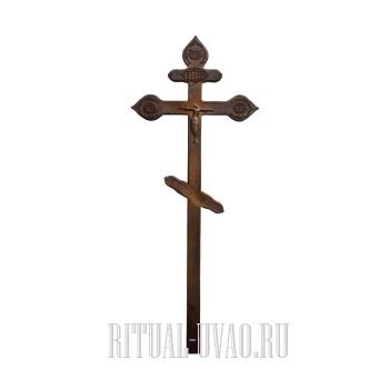 """Крест """"Фигурный Состаренный"""""""