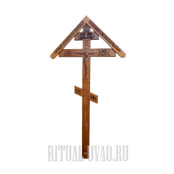 """Крест """"Резной Домик"""""""