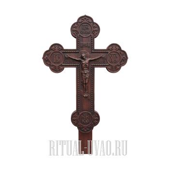 """Крест """"Резной Темный"""""""