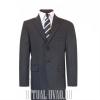 Серый мужской костюм на похороны (вещи в морг)
