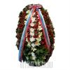 Венок на похороны - натуральные цветы