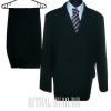 Черный мужской костюм на похороны