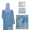 Комплект похоронный с шифоновым шарфом