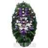 Венок на могилу купить - натуральные цветы