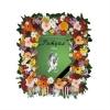 Траурная фотография в цветочной рамке на заказ