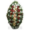 Траурные венки из свежих цветов купить