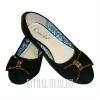 Женские туфли на похороны с бантиком