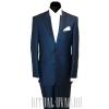 Синий похоронный костюм с набором белья
