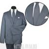 Серый костюм из хорошей, одежной ткани