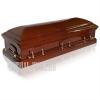 Матовый гроб - двухрышечник - изготовитель Италия