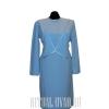 Строгое похоронное платье