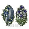 Два престижных венка со скидкой на похороны