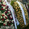 Венок ритуальный - натуральные цветы