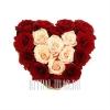 Сердечко из 18 Роз на похороны