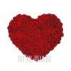 Сердце из 100 роскошных Роз
