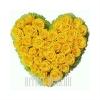 Сердечко из натуральных Роз