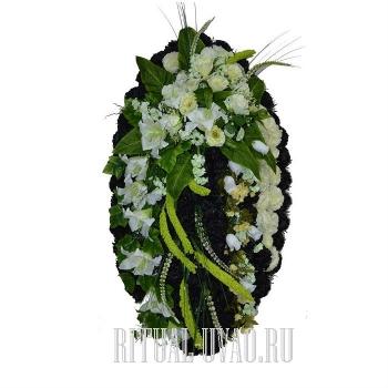 """Похоронный венок """"Лесное диво"""" В01-51"""