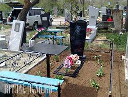 Благоустройство захоронения на кладбище